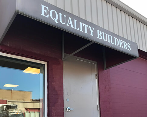Welcome to Equality Builders